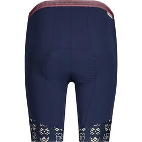 Maloja PuraM. Chamois Bike Shorts Women night sky hayfield